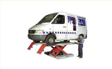 commercial ATEX compliant pneumatic vehicle lift