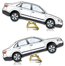 Carry Swing Tilting Portable Car Lift